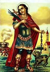 San Vito nell'iconografia tradizionale